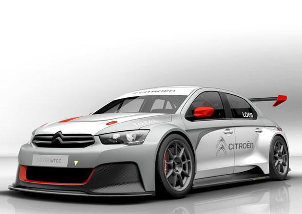 Citroën C-Elysée WTCC odhalen včetně technických dat