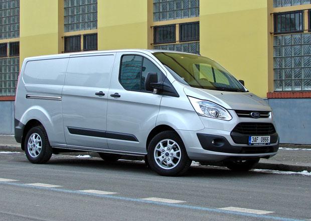 Ford Transit Custom 310 LWB: Silák bez nároků