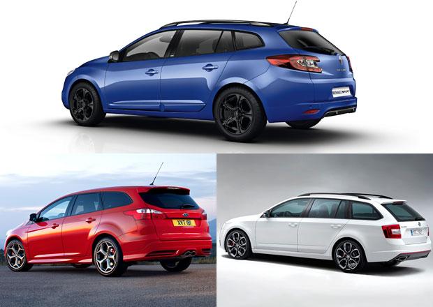 Rychlá kombi: Co koupit – Ford, Renault, nebo Škodu?