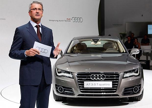 Šéf Audi: Letos prodáme 1,5 milionu aut