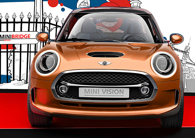 Mini konceptem Vision nazna�uje novou generaci sv�ch aut