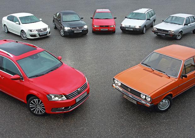 Volkswagen Passat: Oslavy čtyřicátin pokračují