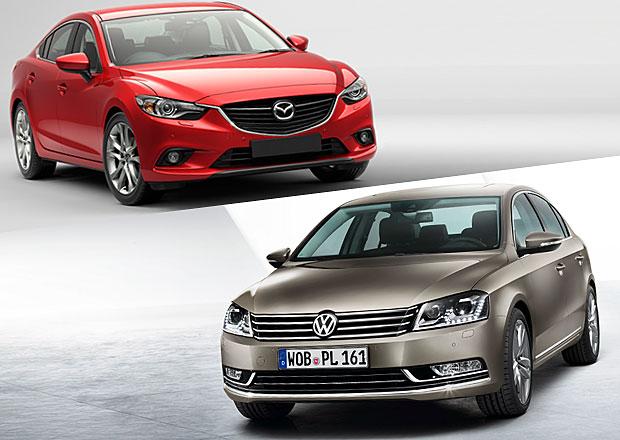Designový duel: Mazda 6 vs. Volkswagen Passat