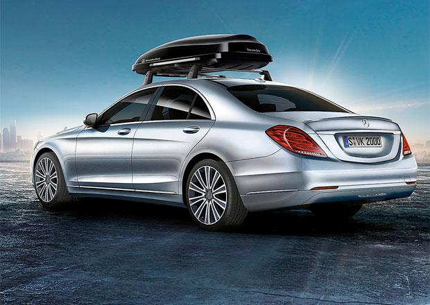 Příslušenství pro Mercedes-Benz třídy S: Držák na kola nebo polštářek