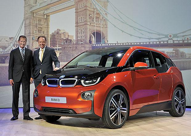 BMW i3 se ofici�ln� p�edstavilo, do prodeje jde v listopadu