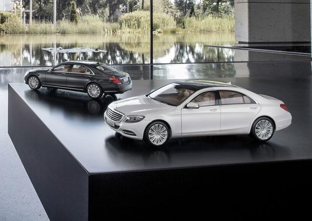 Mercedes nabízí čtyři velikosti třídy S, nejmenší stojí 400 Kč