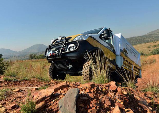 Iveco Daily 4x4 míří napříč Afrikou