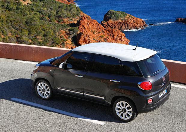 Fiat 500L: V USA s dvojspojkovou převodovkou, Evropa čeká