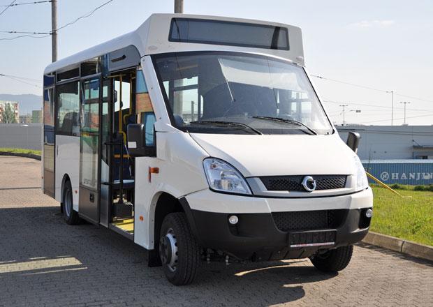 Pardubice testují minibus na CNG