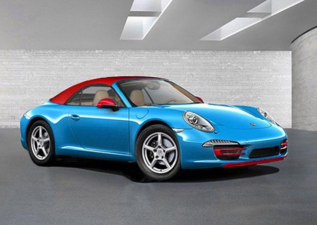 Porsche 911 Blu Edition: Levný kabriolet k oslavě padesátin