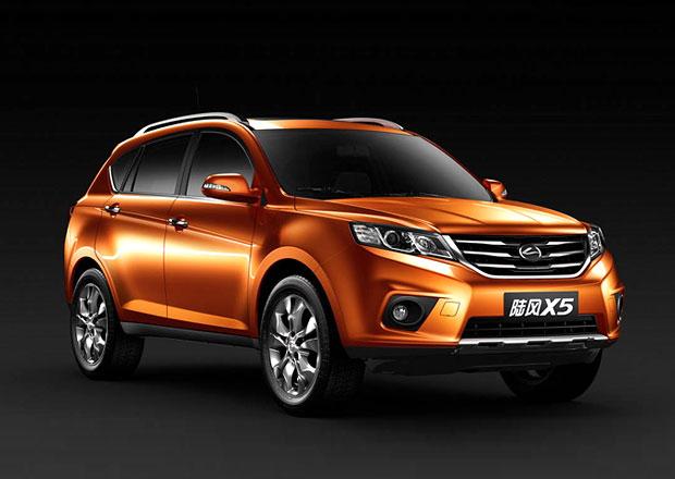 Čínské SUV Landwind X5 dostane osmistupňový automat