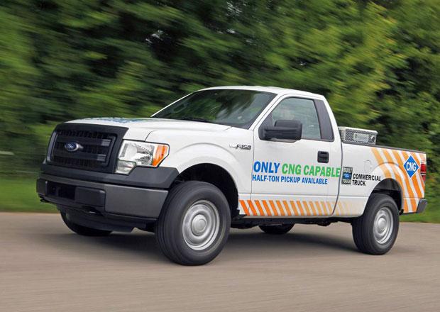 Plyn se prosazuje i v Americe, Ford F-150 dostane verzi na LPG i CNG
