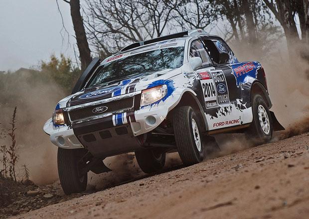Ford p��t� rok na startu rallye Dakar!