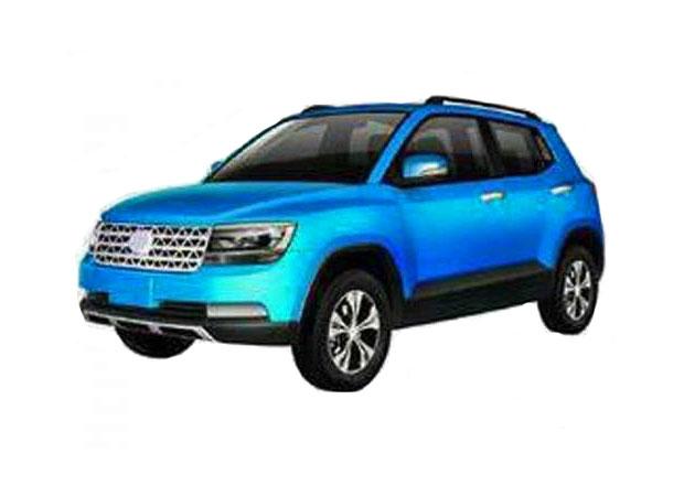 ��nsk� Jiangsu Lake Motors chyst� kopii VW Taigun