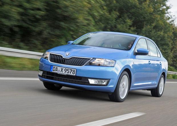 Škoda Rapid předběhla Fabii, v červenci byla v Česku dvojkou