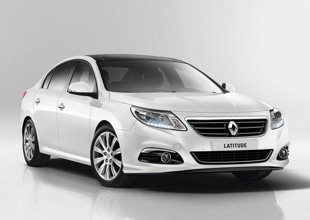 Renault Latitude: Facelift a nový motor 1.6 TCe