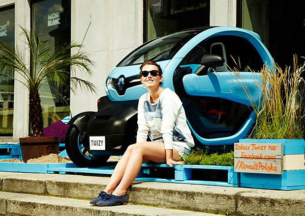 Renault Twizy Gardens: Pohodln� dob�jen� ve Var�av�