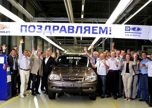 Chevrolet Niva: 500.000 kusů ruského offroadu americké značky