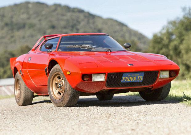 Zapomenutá Lancia Stratos míří do aukce