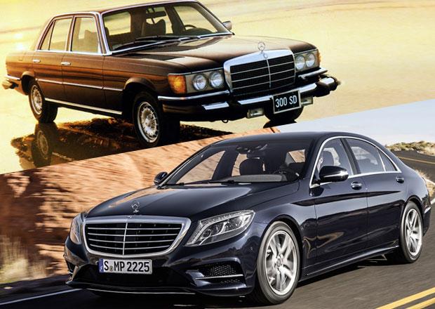 Design po generacích: Mercedes-Benz třídy S a jeho předchůdci