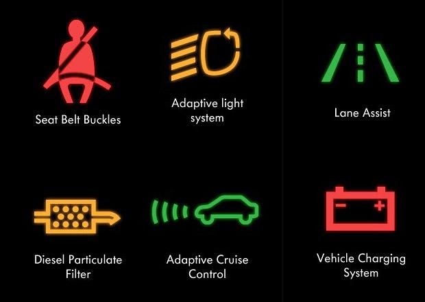 Studie: Naprost� v�t�ina �idi�� nezn� kontrolky v aut�