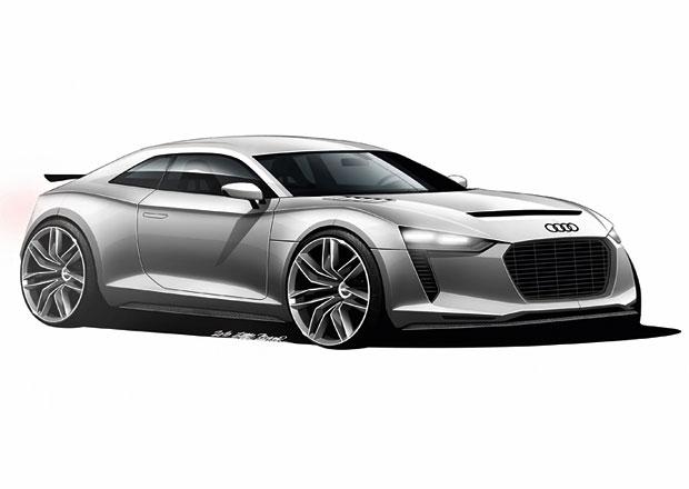 Audi Quattro Concept II: Do Frankfurtu se 600 koňmi