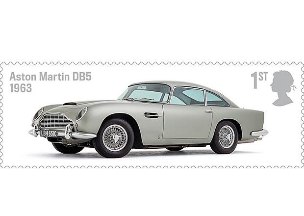Aston, Jaguar nebo Lotus: Hrdinové nové kolekce britských známek