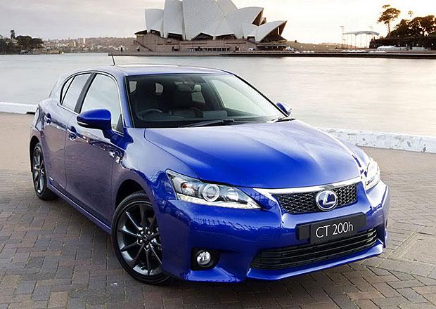 Lexus: Zdarma paket Plus pro modely CT, RX a GS