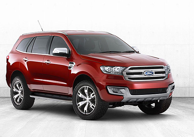 Koncept nového Fordu Everest představen v Austrálii