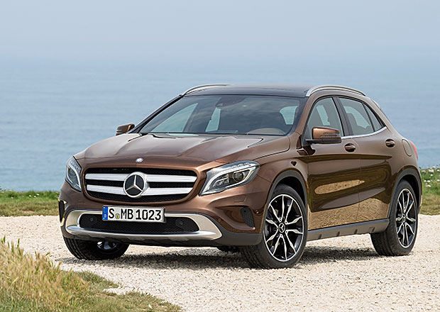 Mercedes GLA ofici�ln�: Na v�ku m��� jen 1494 mm!