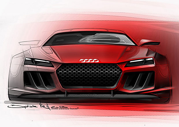 Audi Quattro Concept II: Oficiální skici a nové informace