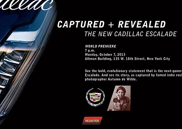 Cadillac chystá nový Escalade, odhalí ho v říjnu