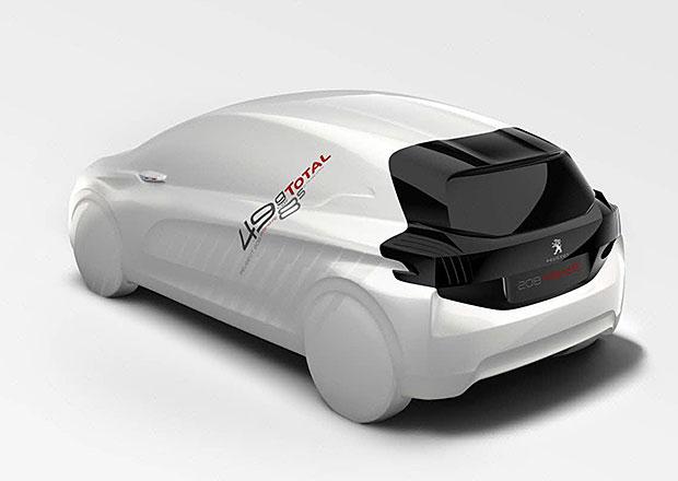 Peugeot 208 Hybrid FE: Koncept sporťáku se spotřebou 2,1 l