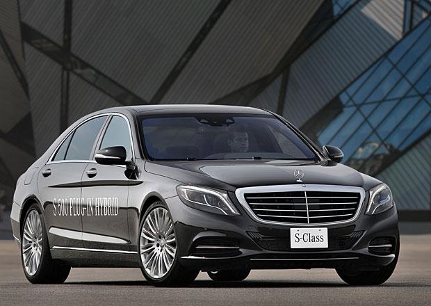 Mercedes-Benz S 500 Plug-in Hybrid: Za tři na sto