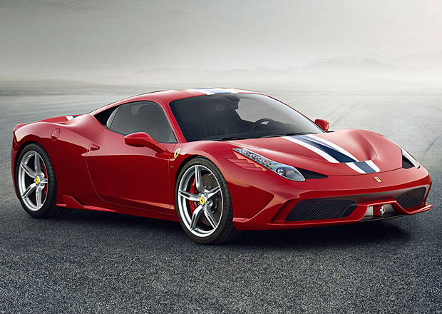 Ferrari 458 Speciale: Scuderia verze Italie m� 605 kon�