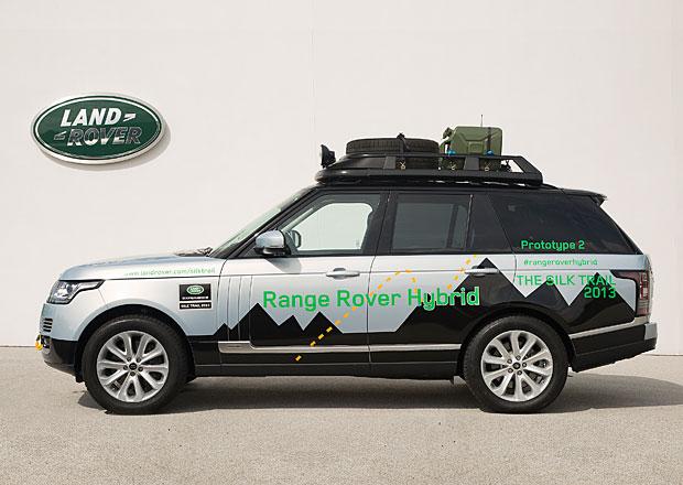 Range Rover Hybrid přichází, má 340 koní