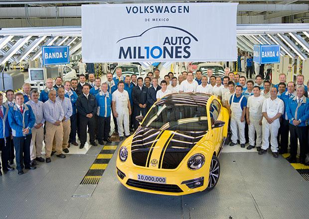 10 milionů Volkswagenů z Mexika