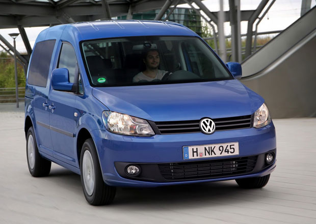 Volkswagen Caddy BlueMotion se spotřebou 4,5 l/100 km