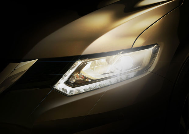 Nissan začal odhalovat crossover Rogue, větší verzi příštího Qashqaie