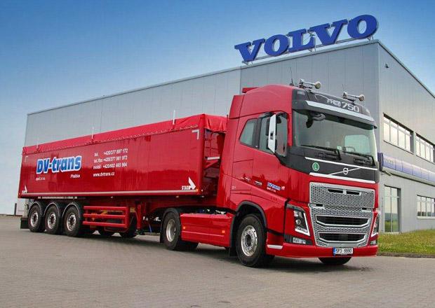 První nové Volvo FH16 750 v České republice