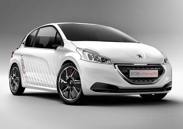 Peugeot 208 Hybrid FE: Lehký šetřílek se bude vyrábět