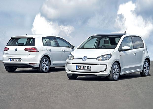 Volkswagen e-Golf a e-up!: Električtí jezdci z Wolfsburgu jdou do výroby