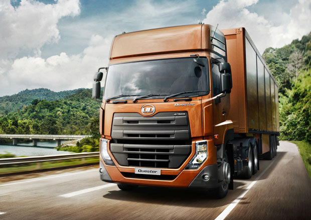 UD Trucks Quester s technikou Volvo Trucks (video)