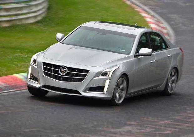 Cadillac CTS se na N�rburgringu dot�hl na BMW M5 (+video)