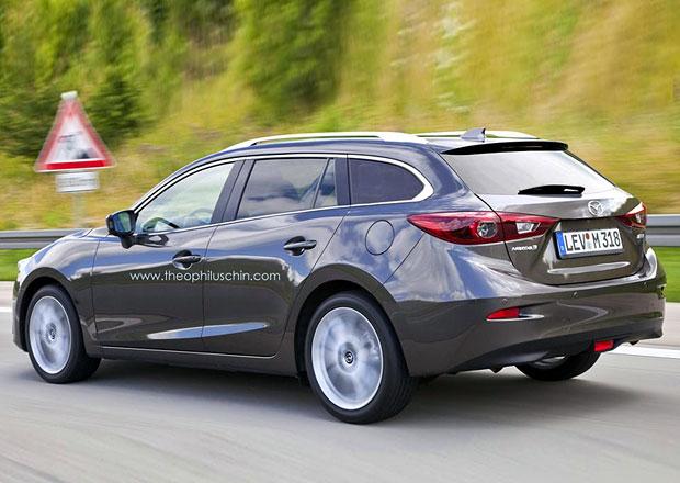 Jak by mohla vypadat Mazda 3 Kombi?