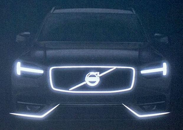 Volvo XC90 pro rok 2015 naznačeno na prvních snímcích