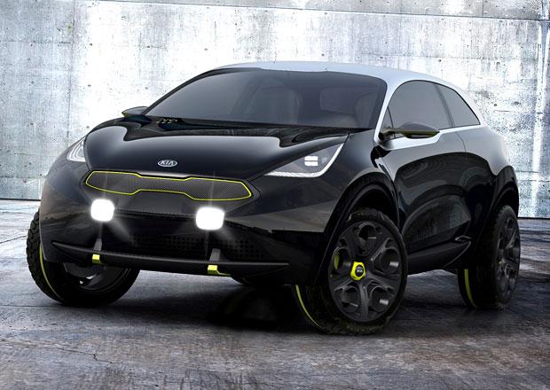 Kia představila Niro, koncept městského vozu