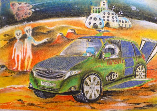 Toyota vyhlásila vítěze 7. ročníku výtvarné soutěže Auto snů