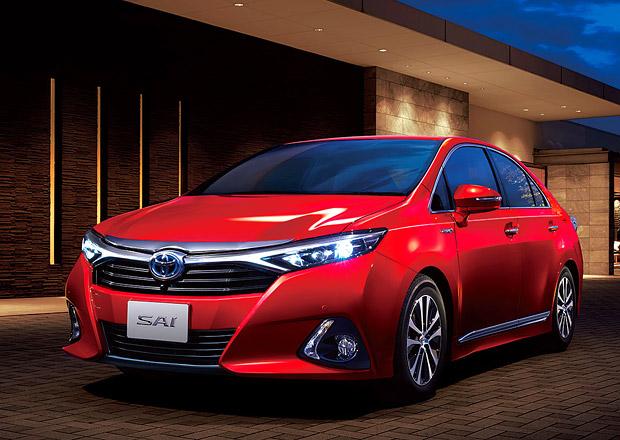 Toyota Sai: Modernizovaný hybridní sedan pro Japonsko