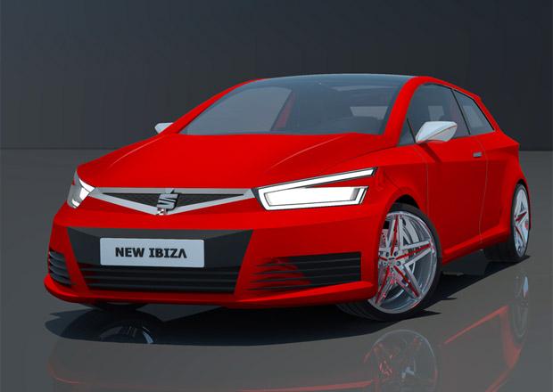 Seat Ibiza Cupra: Počítačové rendery odhalují podobu nového hot-hatche